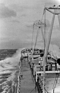 Havkatt crossing Pacific Ocean to Japan